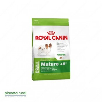 ROYAL CANIN SIZE X-SMALL MATURE +8 1.5 KG