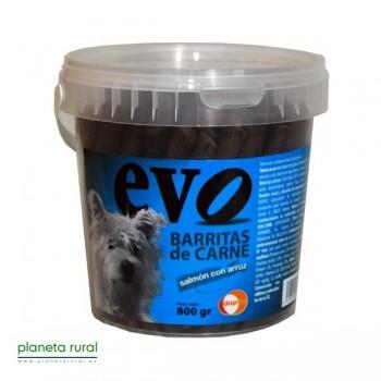 BARRITAS EVO SALMON CON ARROZ 800 gr.