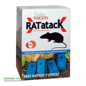 RATICIDA TACOS 0,6KG DAPAC(BLOQUE 100 GR)