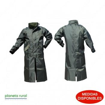 CHAQUETA-PONCHO IMPERMEABLE RAIN COAT VERDE L