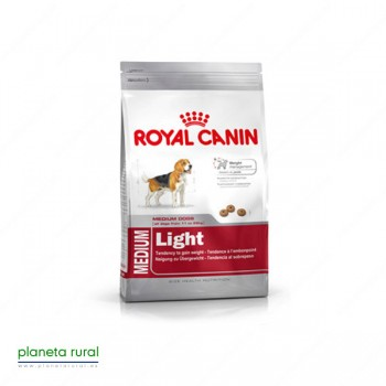 ROYAL CANIN SIZE MEDIUM LIGHT 9 KG