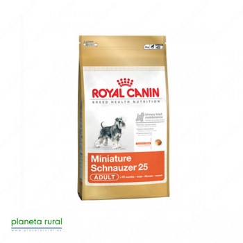 ROYAL CANIN BREED SCHNAUZER MINI 25 7.5 KG