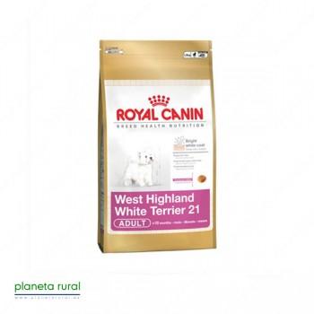 ROYAL CANIN BREED WESTIE 21 1.5 KG