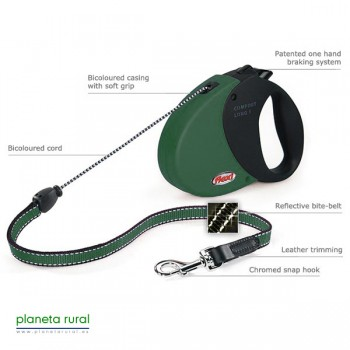 FLEXI COMFORT LONG 1 8MT 12KG VERDE