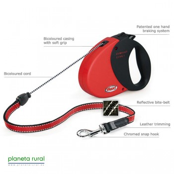 FLEXI COMFORT LONG 1 8MT 12KG ROJO