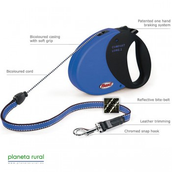 FLEXI COMFORT LONG 2 8MT 20KG AZUL