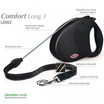 FLEXI COMFORT LONG 3 8MT 50KG NEGRO