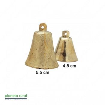 CAMPANILLA LATON DORADA F3 4.5cm