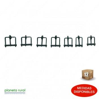 HEBILLA VAQUERA PAVON/INOX 210037SMK-16mm (12uds)