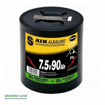 PILA FORZZA ALCALINA 7,5 V- 90 A/h.
