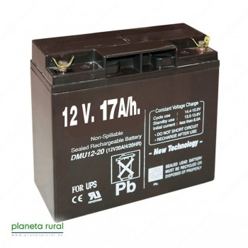PILA RECARGABLE 12V. 17A/h.