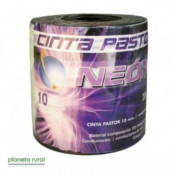 CINTA PASTOR NEON 10mm 200mt 4HILOS GAMA-ECO
