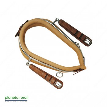 COLLERA ENGANCHE AVELLANA PONY