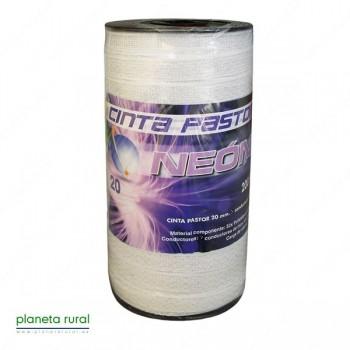 CINTA PASTOR NEON 20mm 200mt 6HILOS GAMA-ECO