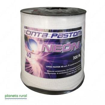 CINTA PASTOR NEON 40mm 200mt 8HILOS GAMA-ECO