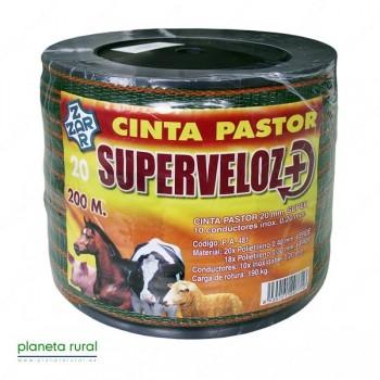 CINTA PASTOR SUPERVELOZ 20mm 200mt 10HILOS