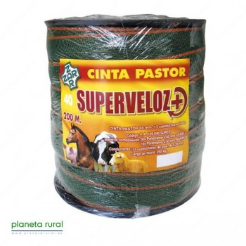 CINTA PASTOR SUPERVELOZ 40mm 200mt 13HILOS
