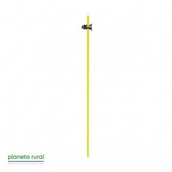 POSTE FIBRA DE VIDRIO 120 cm. AMARILLO