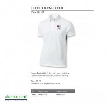CAMISA PIKEUR CAB HERREN TURNIERSHIRT F411 6007