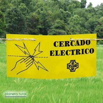 CARTEL INDICADOR CERCA ELECTRICA