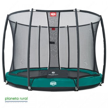 BERG ELITE+ INGROUND GREEN 330 + SAFETY NET T-SERI