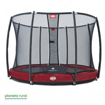 BERG ELITE+ INGROUND RED 380 + SAFETY NET T-SERIES