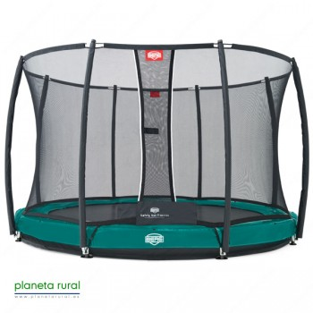BERG ELITE+ INGROUND GREEN 380 + SAFETY NET T-SERI