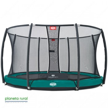 BERG ELITE+ INGROUND GREEN 430 + SAFETY NET T-SERI