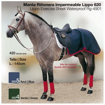 MANTA RIÑONERA IMPERMEABLE LIPPO 620 VERDE