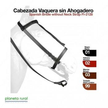 CABEZADA VAQUERA SIN AHOGADERO 2128 TOSTADO