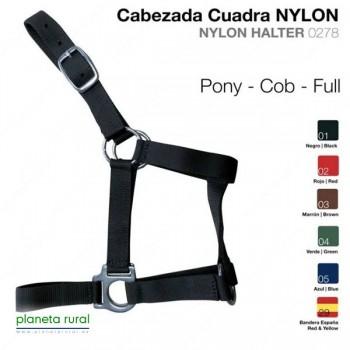 CABEZADA CUADRA NYLON 0278 FULL MARRON