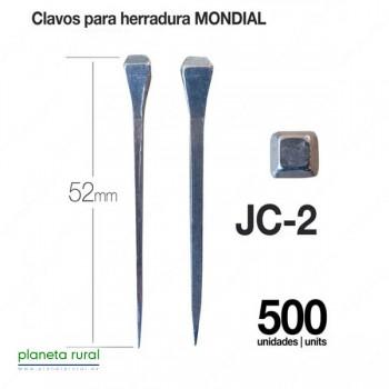 CLAVOS PARA HERRADURA MONDIAL JC-2 500uds