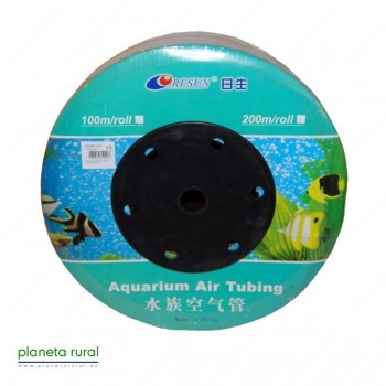 TUBO DE AIRE FLEXIBLE SILICONA 4x6 (1 mt)