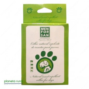 MENFORSAN COLLAR NATURAL REPELENTE PARA PERRO