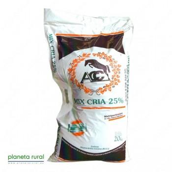 ACC MIX CRIA25%(concentrado)20Kg
