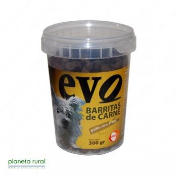 BARRITAS EVO POLLO CON ARROZ 300 gr.