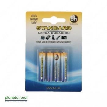 PILA STANDARD AAA R-03/S 1,5V BLISTER 4 PCS.