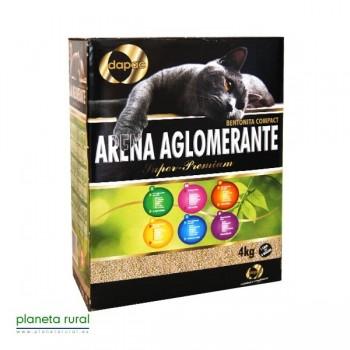 ARENA DAPAC AGLOMERANTE 4 Kg. BENTONITA COMPACT