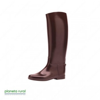 BOTA CAUCHO FLAMBO COLOR MARRON T.28