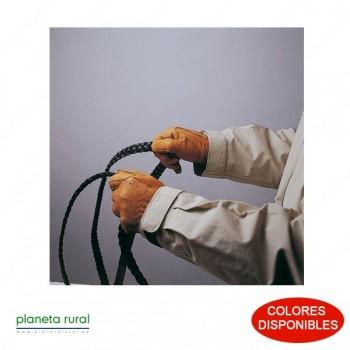 GUANTE PIEL C/ELAST. 411003 AVELLANA L