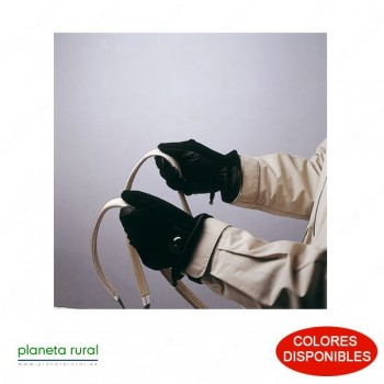 GUANTE PIEL CON CIERRE 411005 MARRON L