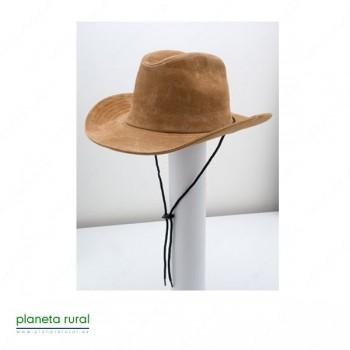 GORRO: SOMBRERO RANCHERO PIEL Nº697 CAMEL