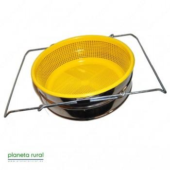 FILTRO EXTENSIBLE INOX CONICO + FILTRO PLASTICO