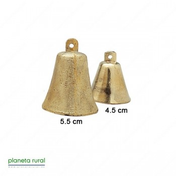CAMPANILLA LATON DORADA F2 5.5cm