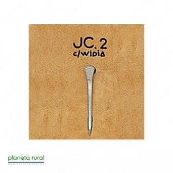 CLAVO CON WIDIA MONDIAL JC-2 (25 UDS)