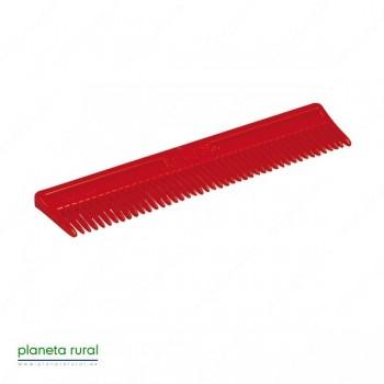 PEINE PLASTICO GRANDE (V.COLOR) (6 UDS)