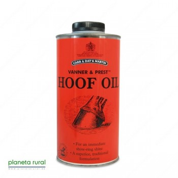CARR y DAY ACEITE PARA CASCOS HOOF-OIL 0,5L.